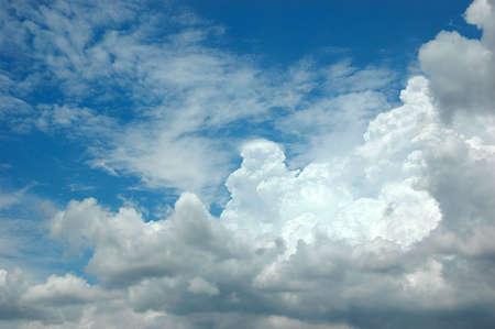 cloud drift: Clouds In The Sky