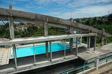 pool podium photo