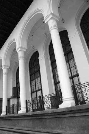 gulden: gedung sate Stock Photo