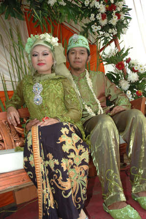 moslem: bride and groom
