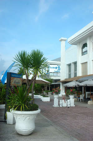 kuta: bali, indonesia-november 25, 2012  discovery shopping mall building exterior at kuta, bali-indonesia  Editorial