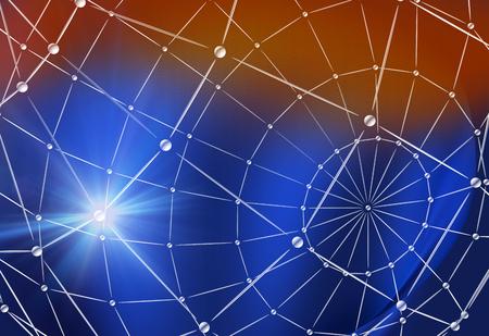 digital world: Digital Technology World Connections Background