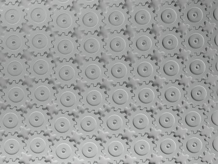 interlocking: Three Dimentional Interlocking Gears Pattern