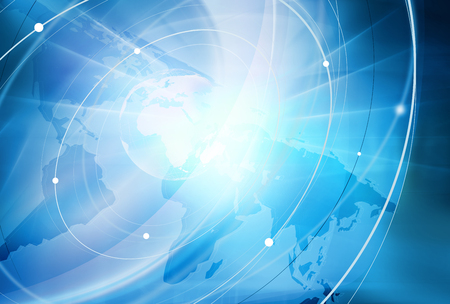 world connectivity: Global Connectivity Background Through the Whole World