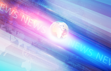 graphical: Graphical Modern Digital World News Background, Technology Communication Background
