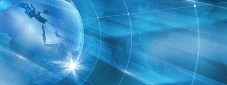 グラフィカル モダンなデジタル世界ニュースの背景、技術通信の背景