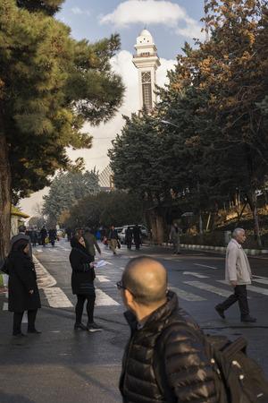 fairground: Tehran, IRAN - December 28, 2016 Tehran International Permanent Fairground. Editorial