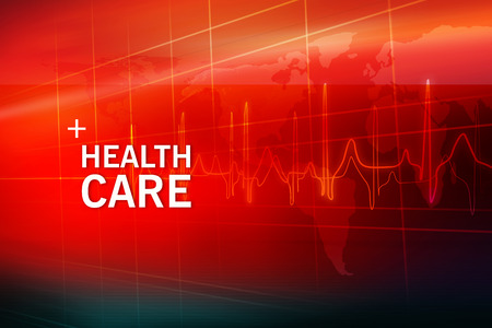 Medical Abstract Background, Suitable for Healthcare and Medical News Topic. 3d illustration, 3d render