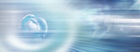 Graphical Modern Digital World News Background, Technology Communication concept