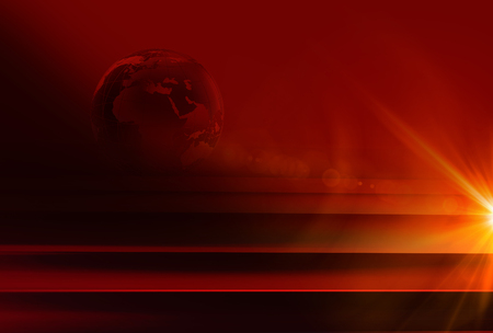 Graphical red theme news background, Suitable forTv and virtual media presentation backdrop.