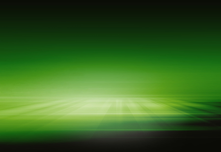 Abstract green background, suitable for products advertising. 3d Illustration