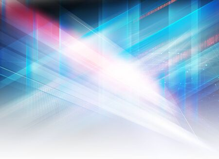 Abstract graphical high tech futuristic design, digital data background concept Фото со стока