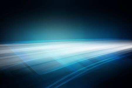Data transmit supper fast in dark tunnel, abstract high technology background Imagens