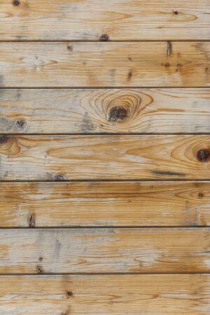 Weathered wooden texture, natural  building wall boards texture. Vertical shot Banco de Imagens