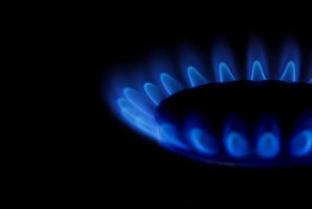 Gas fire photo