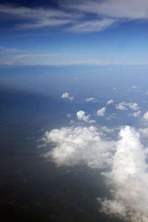 skylight: Clouds Stock Photo