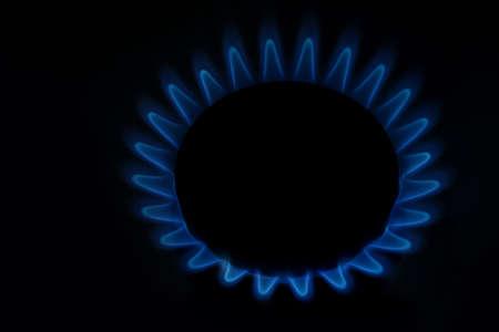 gas fire: Gas fire