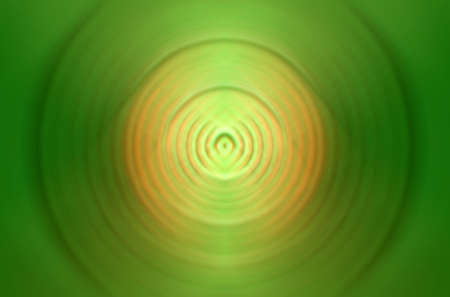 Green circle abstraction Stock Photo - 4233657