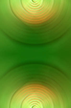 Green circle abstraction Stock Photo - 4233659