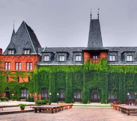 Hradec nad Moravici castle of Czech Stock Photo - 4662938