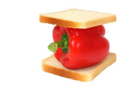 Vegetable sandwich photo