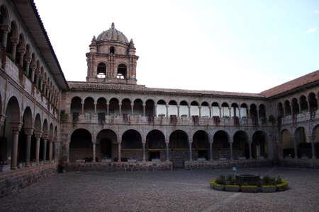 cuzco: Koricancha in Cuzco, Peru
