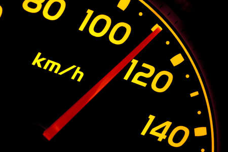 Close up of car speed meter Stock Photo - 6993669