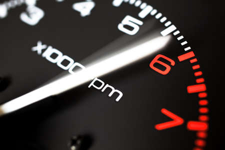 REV COUNTER TACHOMETER  photo