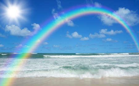 beach and sun photo