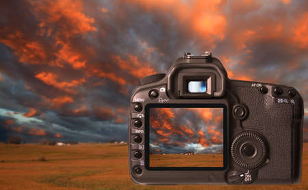 Digital camera Stock Photo - 9474650