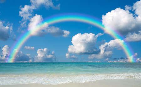 cielo y mar: Playa
