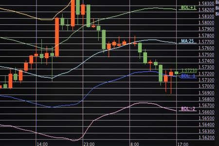 Foreign exchange market chart Stock Photo - 10945998