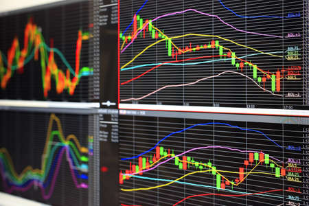 Foreign exchange market chart Stock Photo - 10945997