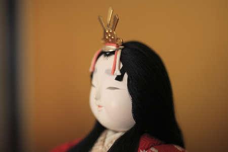 Japanese traditional doll Ohinasama Stock Photo