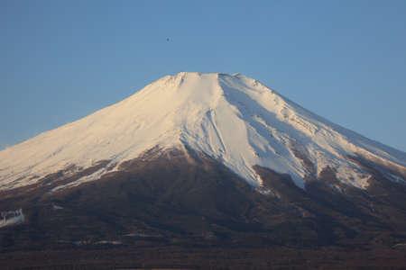 snow capped mountains: Mount Fuji  Stock Photo