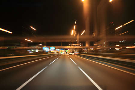 speedy: Driving on the night road