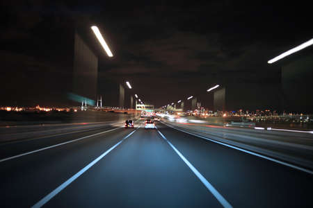 acceleration: Driving on the night road