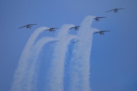 aerobatics: Formation aerobatics