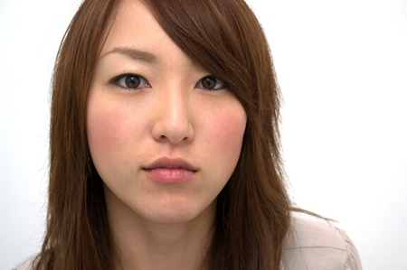 Asian Beautiful Girl s Portrait  Stock Photo - 16253928