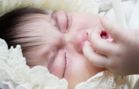 Baby crying Stock Photo - 17657463
