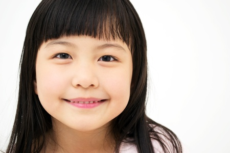 japanese ethnicity: Asian Girl s portrait