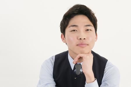 steward: Asian businessman  Stock Photo