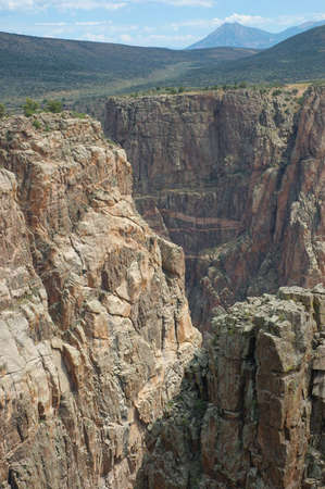 Black Canyon of the Gunnison Side Canyon