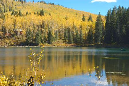 Mesa Lake in Autumn