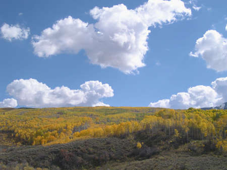 McClure Pass in Autumn Stock Photo - 333532