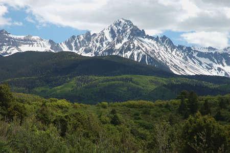 Mt. Sneffels in the San Juna Range