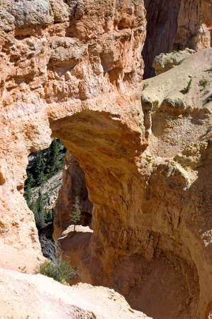 Natural Bridge Arch at Bryce photo