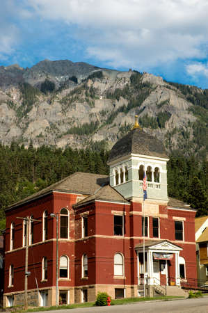Ouray county courthouse in Ouray, Colorado