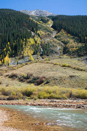 Animas River at Silverton, Colorado