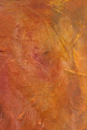 bidirectional: Orange Acrylic Painted Background